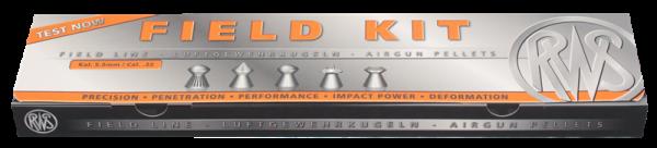 RWS Luftgewehrkugel Field Kit Kal. 5,5 mm