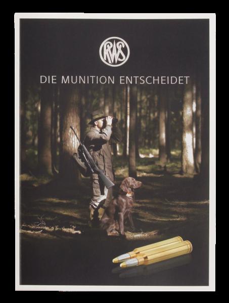 RWS Broschüre DIE MUNITION ENTSCHEIDET