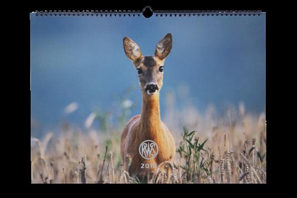 RWS Wildkalender 2018