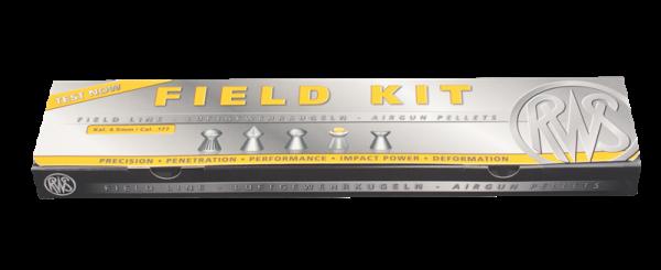 RWS Luftgewehrkugel Field Kit Kal. 4,5 mm