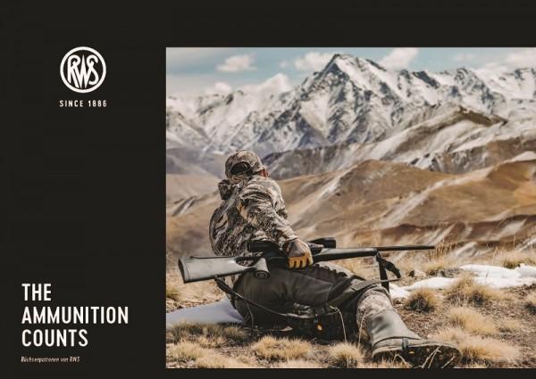 RWS Broschüre THE AMMUNITION COUNTS - Büchsenpatronen von RWS